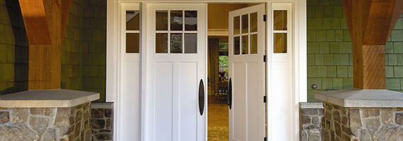 Simpson handcrafted exterior, interior and custom wood doors