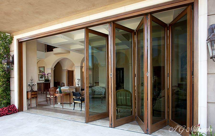 Accordion Glass Doors : Folding doors cost