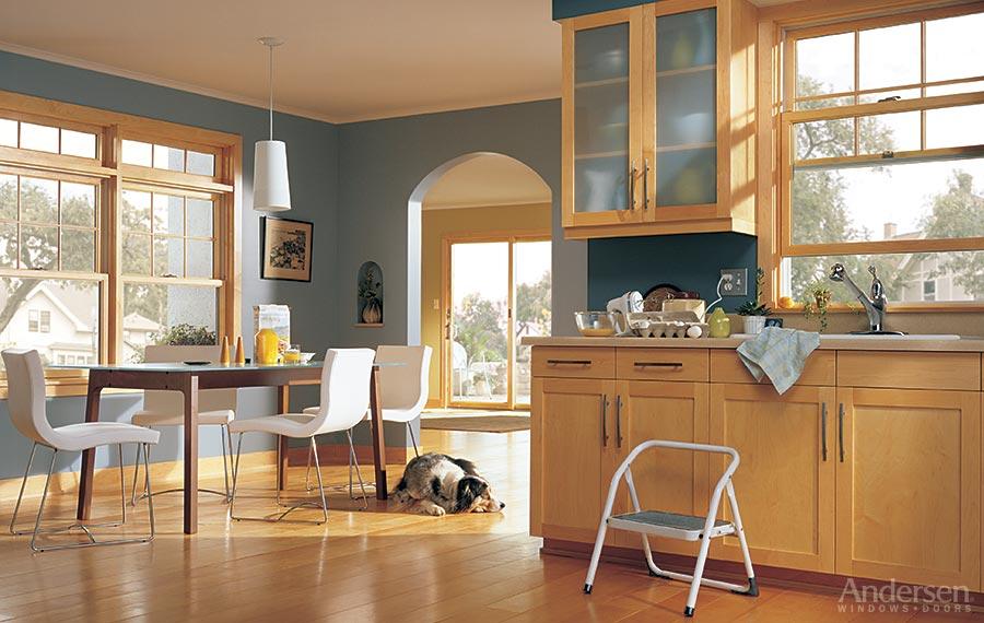Windows doors skylights hardware economy lumber company for Andersen windows u factor