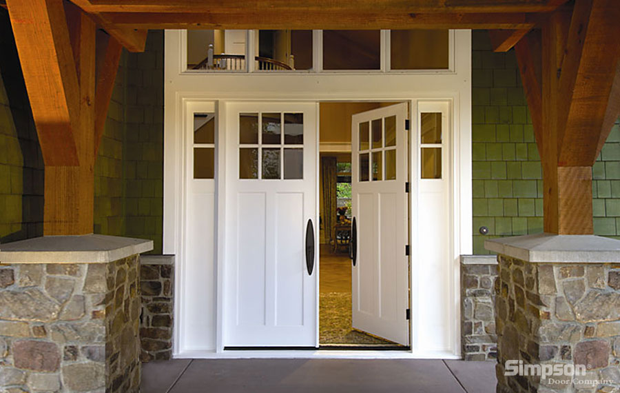 white craftsman front door. click image to view white craftsman front door c