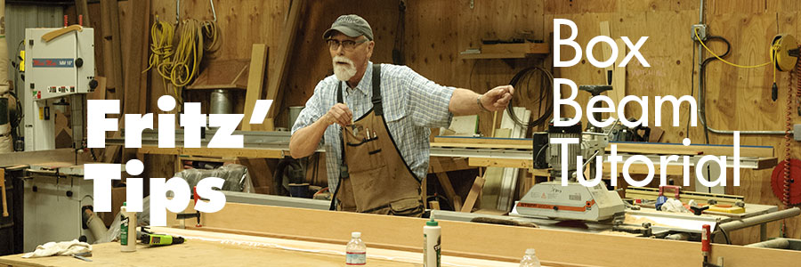 Fritz' Tips - Box Beam Woodworking Tutorial