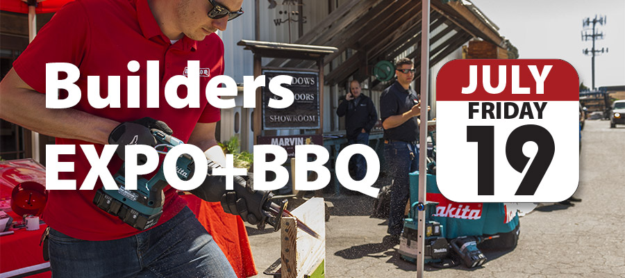Builders EXPO+BBQ this Friday, July 19th