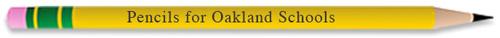 Pencils for Oakland Schools