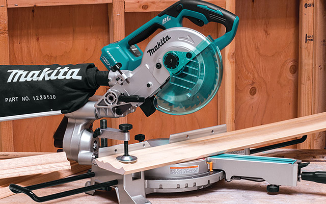 18V x2 Brushless Cordless 7-1/2 inch Dual Slide Compound Miter Saw