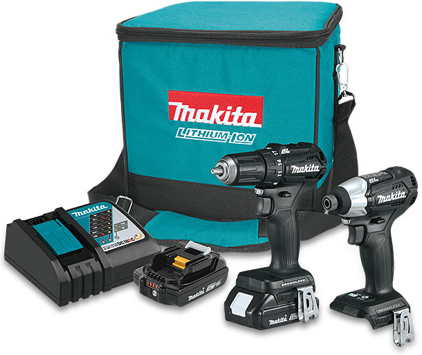 Makita CX200RB two tool kit