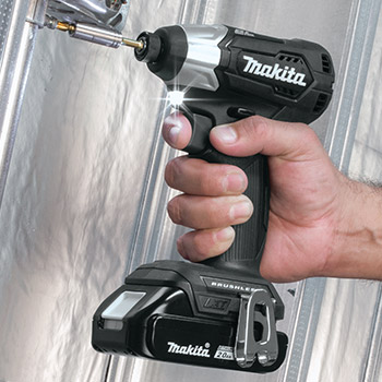 Makita Sub-Compact Impact Driver in action