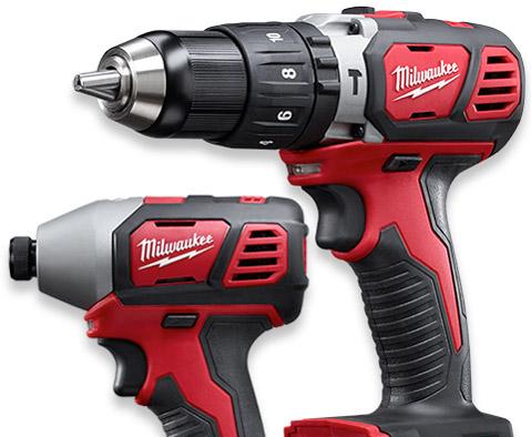Milwaukee #2697-22 two-tool bare tool kit