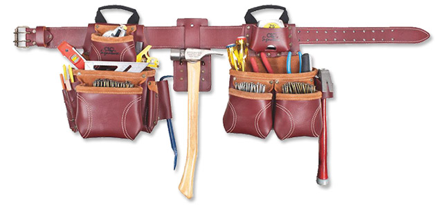 Signature Elete Leather Carpenter Apron