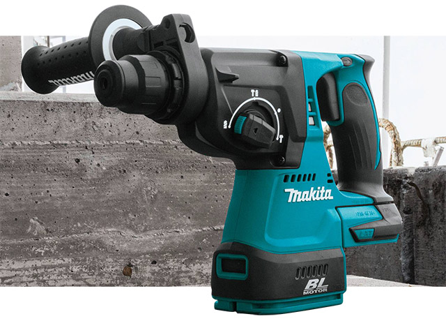 "Makita 18V LXT® Lithium‑Ion Brushless Cordless 1"" Rotary Hammer"