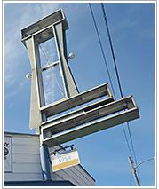 Economy Lumber Piedmont street sign