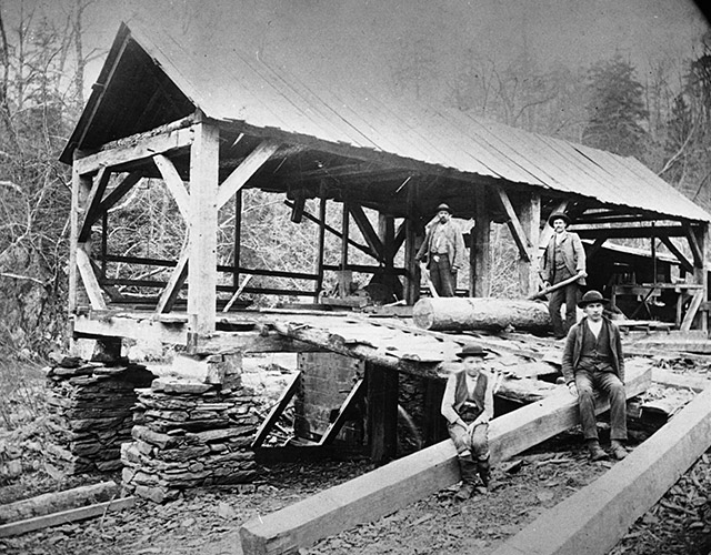 First sawmill in Oakland