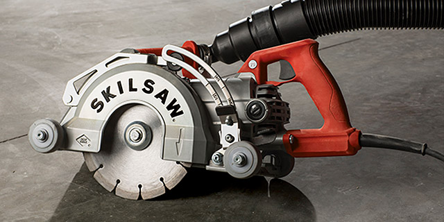 Skilsaw Medusaw for concrete