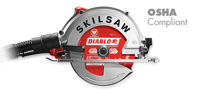Skilsaw Sidewinder circular saw for Fiber Cement