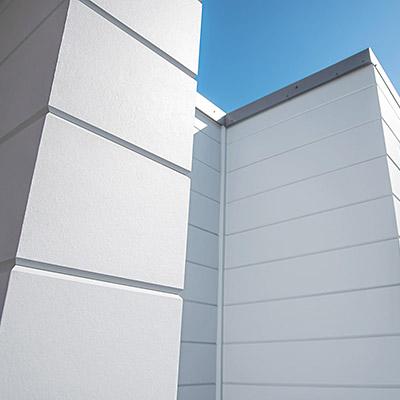 Artisan siding mitered corners